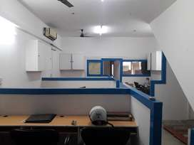 semi- furnished commercial office space available for rent/ lease