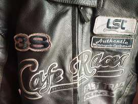 Cafe racer genuine leather armoured Jacket made in Germany