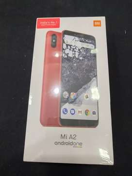 New Sealed One Redmi Mi A2 6gb+128gb Red colour