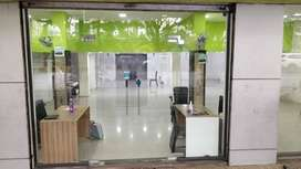 Good commercial space located from vashi.