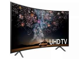 """50"""" CRUVED Smart Android, New Pack Pis, Slim Tv, Hurry up,"""
