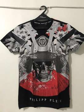 Philipp Plein Tshirt Red Black