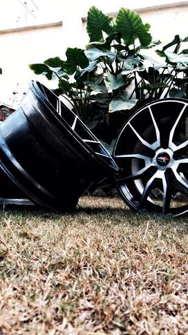 17 inch rims staggered