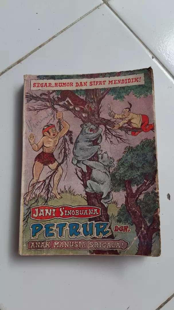 Buku cerita Bergambar Komik petruk dengan anak manusia srigala 0