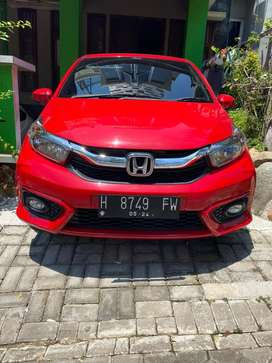 BRIO Type E Manual M/T 2019 Merah Murah Cepat BU