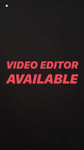 Video Editor Available