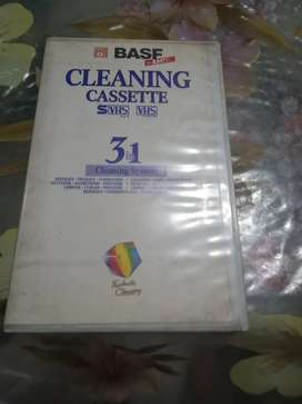 VCR cleaner casseette BASF