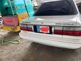 Toyota Corolla 89 2018 auction Islamabad registered
