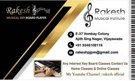 Online keyboard classes  and home classes