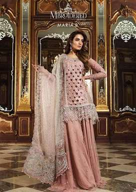 Maria B Luxury Embroided Suit