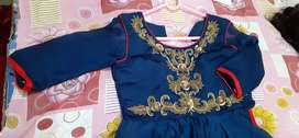Side cut long gown size 34