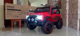 Mobil Anak Mainan Aki Jeep Rocky Remote Control