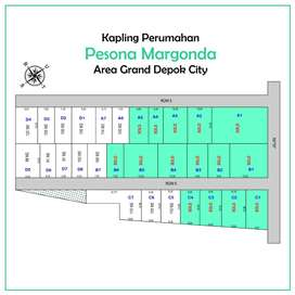 Kavling Rumah Dekat Tol Jagorawi, Sertipikat SHM: Luas 100an m2