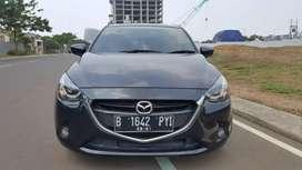 Mazda 2 R AT 2015 Hitam KM 30rb