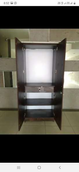 2 door wardrobe in very best quality and price with warranty