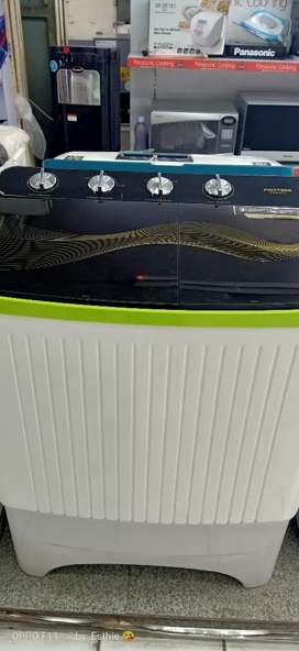 Mesin cuci 2 tabung kredit nya cantik ringan dan aman