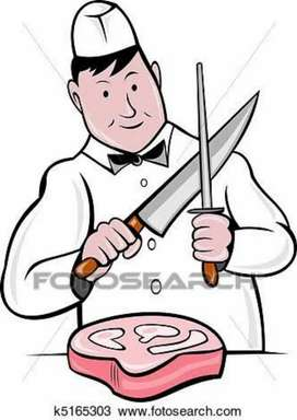 Wanted experienced butcher cum helper.