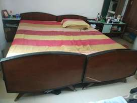 Bed with side table & dressing at SALE!!