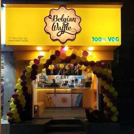Staff for The Belgian Waffle co. Food outlet