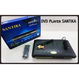 Dvd player dvd santika dvd disc player pemutar video pemutar mp3 vcd