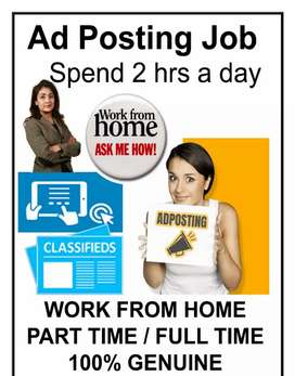 Great opportunity for work from home
