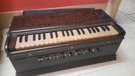 Harmonium, a musical instrument for singing.