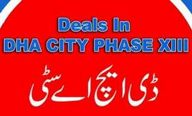Phase 13 ex Dha city 10 Marla file available for sale contact