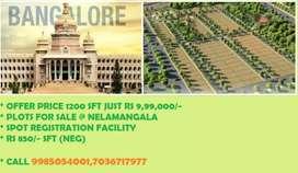 Layout located at SH 74 Nelamangala to Dodaballapur road