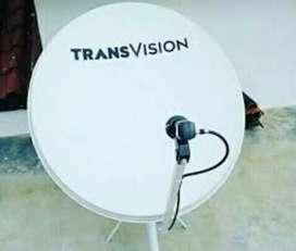 Pasang baru paket nomat parabola Tränsvision HD biaya murah terbatas