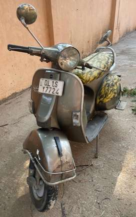 LML scooter with auto start