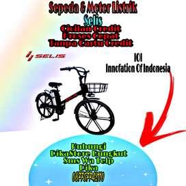 Sepeda Listrik Selis IOI.Bisa Cicilan Gratis Admin Cukup Dp/Uang Muka