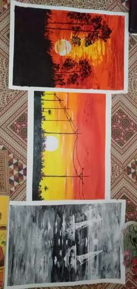 Paintings and calligraphy