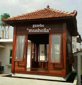 Jual gazebo untuk musholla,gratis pasang