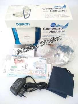 Compressor Nebul Nebulizer Alat Uap Asma Batuk Pilek Omron NE C803