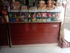 Counter of shop