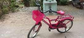 Kids cycle pink