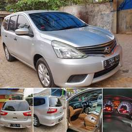 Nissan Grand Livina Silver Matic Stnk 2014