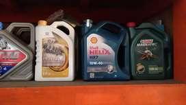 Oli Mesin Mobil Shell helix HX5 HX7 HX8 TMO HONDA EPRO CASTROL PRIMA