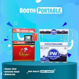 Booth Portable Pengiriman luar jawa di jamin aman