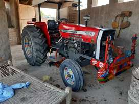 I sell tractor messy 385 new condition super power fully geneion
