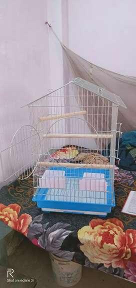 Cage bird stenless steel 24*18*18 inch big