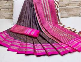 soft cotton weaving sarees