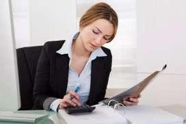 We are hiring female accountant