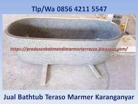 Jual Bak Mandi Teraso Marmer Karanganyar, Bathtub Terrazzo