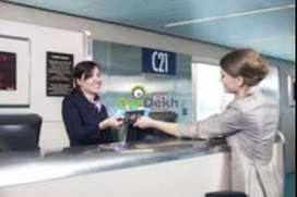 Cashier in Indore Airport