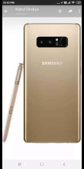 Samsung galaxy note 8   6gb ram storage 64 gb