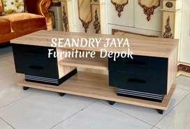 SEANDRY JAYA Furniture Depok/Meja rak tv minimalis/promo murah/lemari