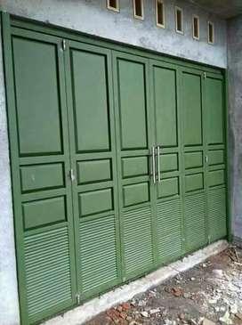 pintu garasi sliding/lipat