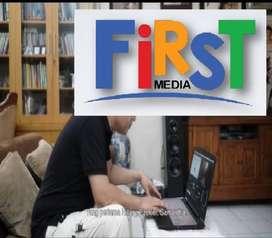 FIRSTMEDIA PASANG WI-FI INTERNET FIRST MEDIA