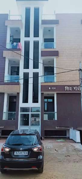 1 bhk full furnished portion for family only